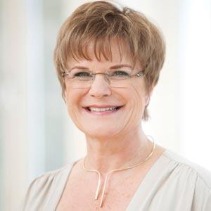 Portrait von Ernährungsberaterin Dr. Rita Hein
